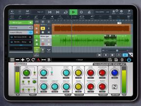 Nembrini Audio Shimmer Delay Ambient Machine App