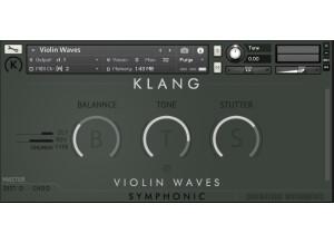 Cinematique Instruments Violin Waves