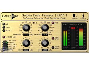 Kjaerhus Audio Golden Peak-Pressor GPP-1