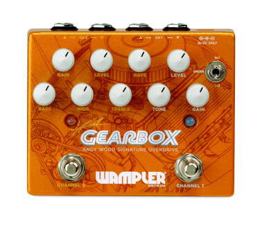 Wampler Pedals Gearbox Andy Wood Signature Overdrive