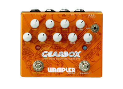 Wampler dévoile la Gearbox Andy Wood Signature Overdrive