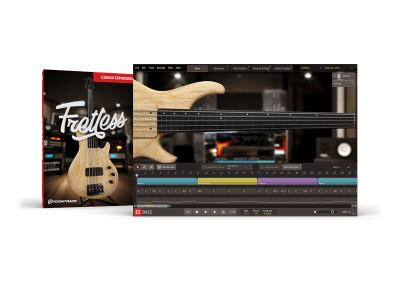 Toontrack présente la banque de sons de basse Fretless EBX