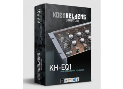 Black Rooster Audio et Koen Heldens présentent le KH-EQ1