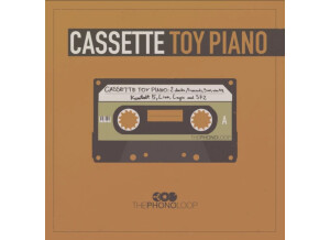 The Phonoloop Cassette Toy Piano