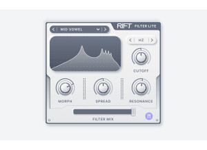 Minimal Audio Rift Filter Lite