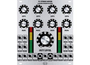 "L-1 Synthesizer 4 Channel Discrete VC Stereo Mixer (""Blacksea"")"