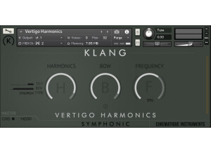 Cinematique Instruments Vertigo Harmonics
