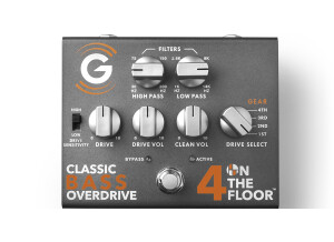 Genzler Amplification 4 On The Floor Bass Overdrive