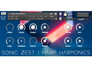 SonicZest Harp Harmonics