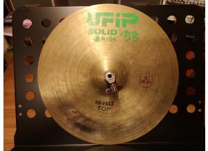 """UFIP Solid Ride '86 Hi-Hat 14"""""""