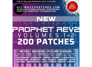 Ultimate Patches • Sequential Rev2 Best-Selling Presets