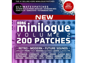 Ultimate Patches • Korg Minilogue Best-Selling Presets