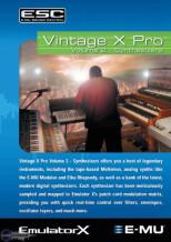 E-MU Vintage X Pro Volume 2