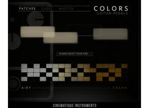 Cinematique Instruments Colors Guitar Pedals