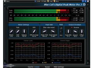 Blue Cat Audio Blue Cat's Digital Peak Meter Pro