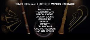 VSL (Vienna Symphonic Library) Synchron-ized Historic Winds Packs