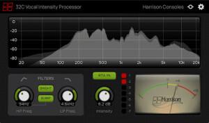 Harrison Consoles 32C Vocal Intensity Processor