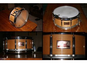 Pearl free floating 14x6.5 érable