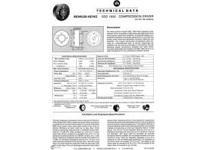 Renkus-Heinz SSD 1800