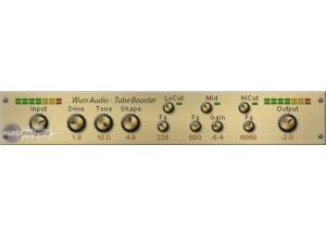 Patrick Wurr Audio Engineering TubeBooster [Freeware]