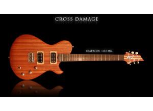 Marceau Guitars Cross Damage