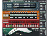 M-Audio Drum & Bass Rig