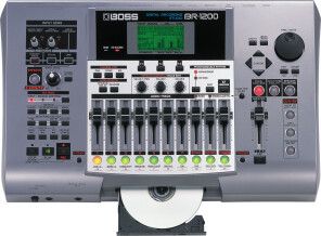 Boss BR-1200CD Digital Recording Studio