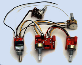 Glockenklang Onboard Preamp 3-band