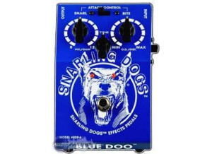 Snarling Dogs Blue Doo