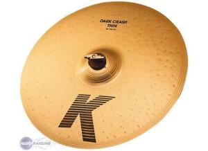 Zildjian K Dark Crash Thin 16''
