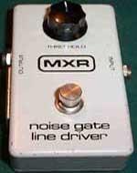 MXR M106 Noise Gate Line Driver Block Logo Vintage