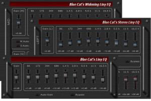 Blue Cat Audio Blue Cat's Liny EQ pack
