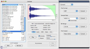 Audiofile Engineering Sample Manager 2.1