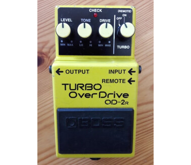 Boss OD-2R TURBO OverDrive