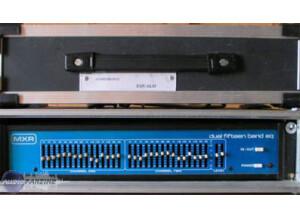 MXR M124 Dual 15-Band Graphic Equalizer