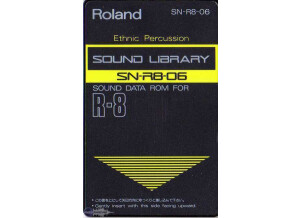 Roland SN-R8-06 : Ethnic Percussion