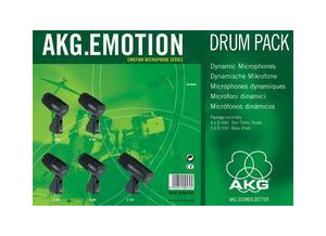AKG EMOTION DRUM PACK