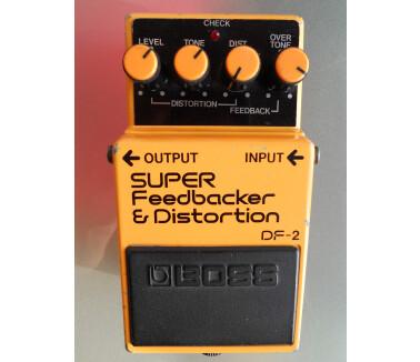 Boss DF-2 SUPER Feedbacker & Distortion