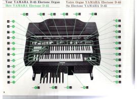 H.P. muets orgue Electone D65/D80