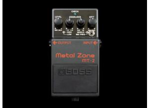 Boss MT-2 Metal Zone - Twilight Zone - Modded by Keeley