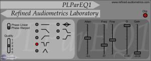 Refined Audiometrics Laboratory PLParEQ1