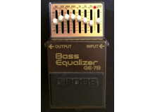 Boss GE-7B Bass Equalizer