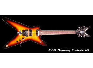 Dean Guitars Dimebag ML FBD Tribute