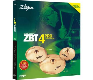 Zildjian ZBT Pro 4 Box Set