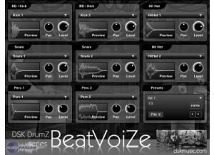 DSK Music DrumZ BeatVoiZe [Freeware]