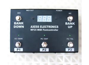 Axess Electronics MFC5 MIDI Footcontroller