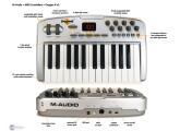 Clavier Midi USB M-Audio Oxygen 8 v2