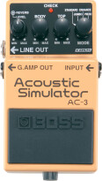 [NAMM] Boss AC-3 Acoustic simulator