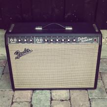 "Fender Deluxe Reverb ""Blackface"" [1963-1967]"