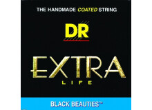 Dr Strings Extra Life Color Coated